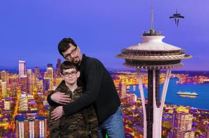 Our entry image to the Spaceneedle.